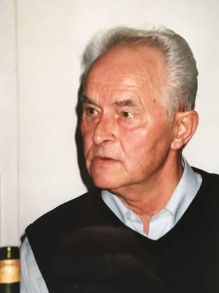 Gerhard Schor,80 Jahre alt