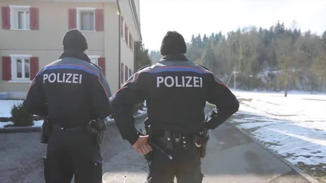 Polizeieinsatz in Malters LU