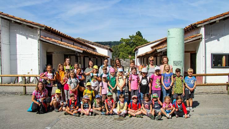 Teilnehmer und Leiter des diesjährigen Jugiausflugs