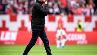 Seine Zeit als Trainer des 1. FC Köln ist abgelaufen: Achim Beierlorzer