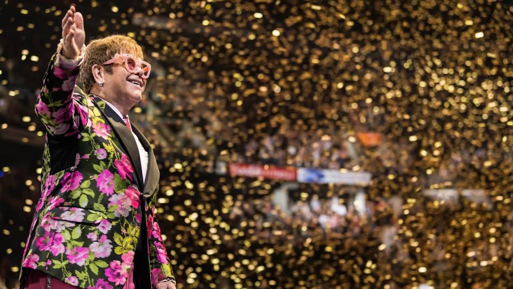 Elton John gibt ein Zusatzkonzert in der Schweiz