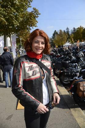 Harley Parade an der HESO.