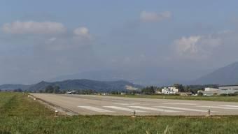 Über dieses Pistenende raste der Business-Jet hinaus, als es 2011 zum Unfall kam.