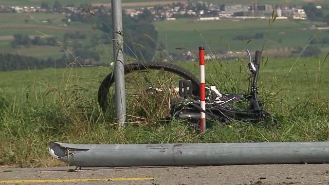 Unfallfahrer unter Schock