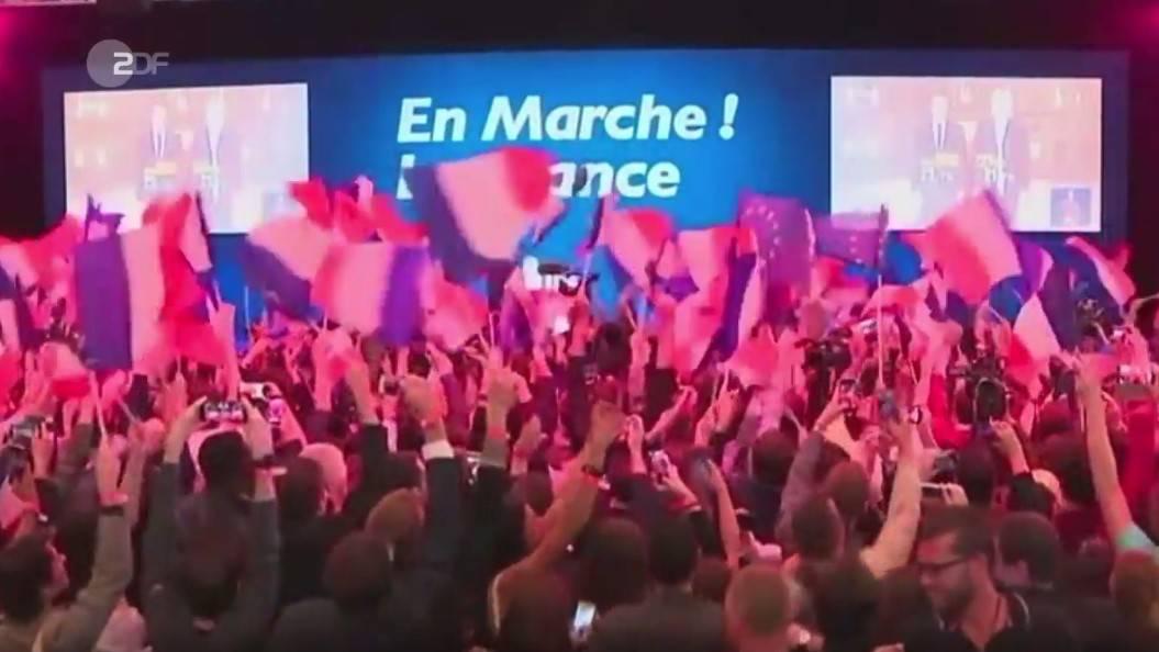 Macron gewinnt 1. Wahlgang vor Le Pen