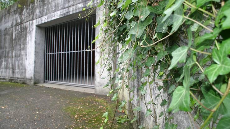 Hier werden bis zu 350 Aslysuchende untergebracht.