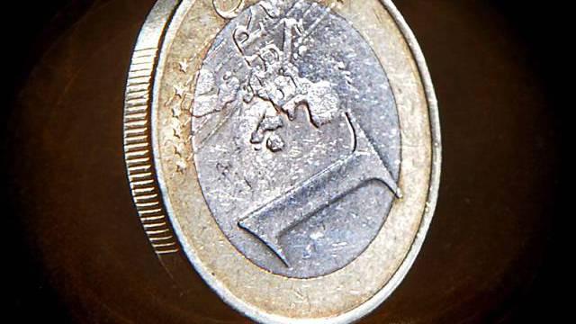 Der Euro befindet sich im freien Fall (Archiv)