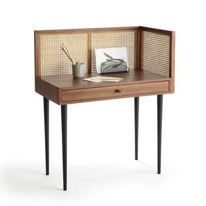 Schreibtisch Noya mit Rückwänden aus Wiener Geflecht. La Redoute, 525 Fr.