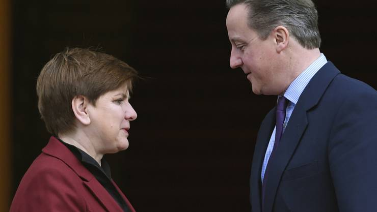 Polens Regierungschefin Beata Szydlo und der briitsche Premier David Cameron