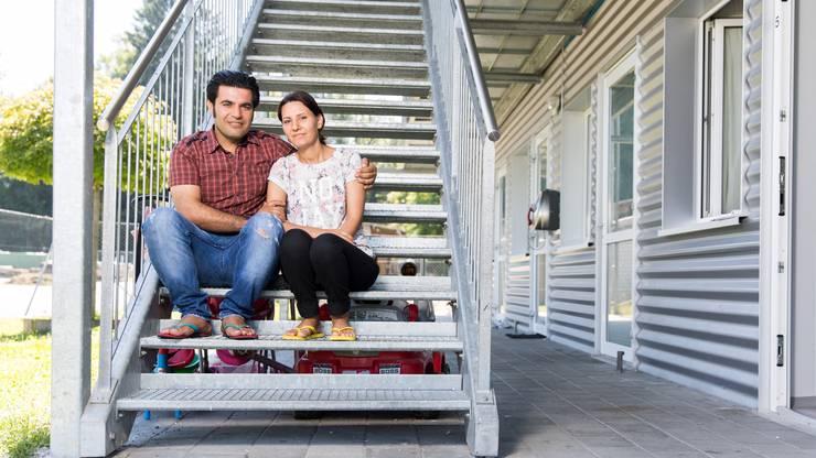 Hayder Yasar Kus und Rouken Mammo wollen sich bald standesamtlich trauen lassen.