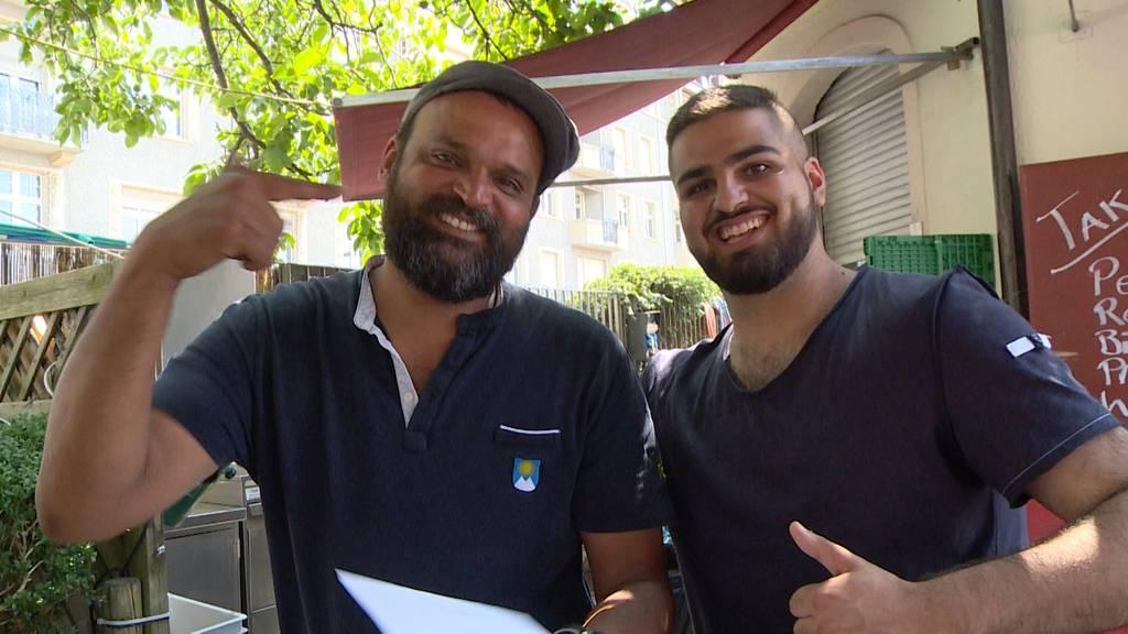 Zweite Chance: Grillmeister Baba stellt seinen Bedroher ein