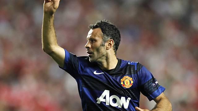 Altmeister Ryan Giggs sicherte Manchester United den Auswärtssieg