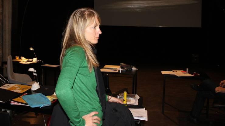 Seraina Rohrer im Kino Uferbau.  at.