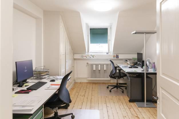 So sehen die neuen Büros aus.