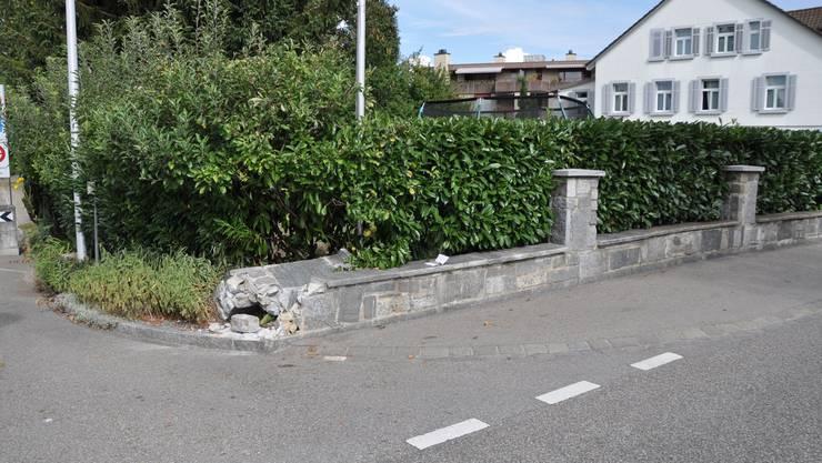 Der Unfall erreignete sich an der Hauptstrasse in Zuchwil.