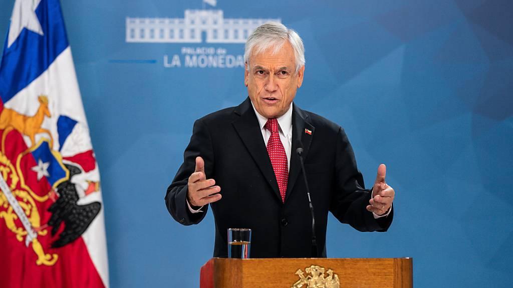 Chiles Präsident Piñera sieht Gesundheitssystem «sehr nah am Limit»