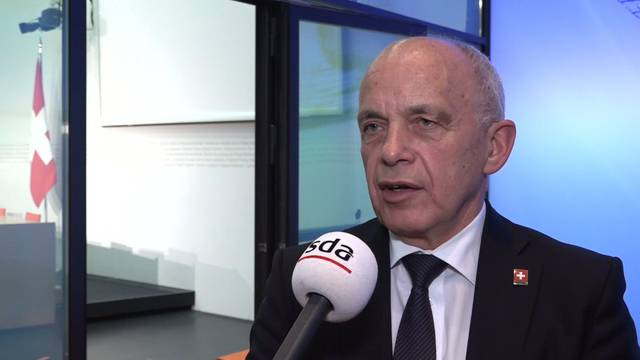 Finanzminister Ueli Maurer warnt vor Vollgeld-Experiment