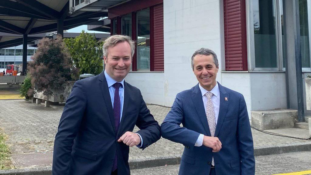 Cassis bespricht Kooperation mit französischem Staatssekretär