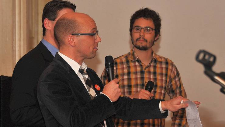 Kein Konsens: Nationalrat Stefan Müller (links) und Kantonsrat Markus Knellwolf. uw