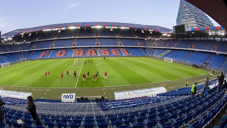 Im St. Jakob Park von Basel wird kommenden Sonntag nicht gespielt werden.