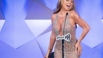 Verschwenderisch, redselig - und seit neustem wieder Single: Pop-Diva Mariah Carey hat sich aus der Sicht ihres Verlobten James Packer zu viele Fehltritte geleistet. (Archivbild)