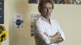 """Sein aktueller Roman """"Königskinder"""" gehörte 2018 zu den Bestsellern im Deutschschweizer Buchmarkt: Alex Capus. (KEYSTONE/Alessandro della Valle)"""