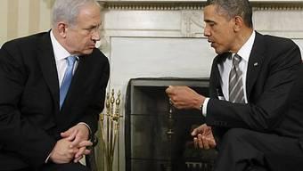 Netanjahu und Obama wollen gemeinsam am Frieden in Nahost arbeiten