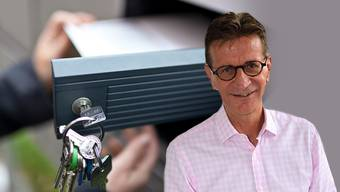 Gemeindeammann Christian Baumann: «Ich muss davon ausgehen, dass dieses Flugblatt in alle Haushalte von Zufikon verteilt wurde.