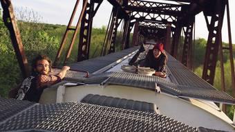 Als Trainhopper durch die USA.