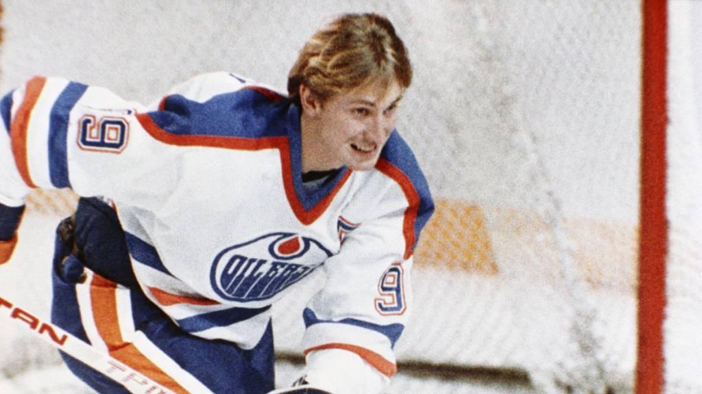 Bei Wayne Gretzkys Abschied wurde sogar die Hymne umgeschrieben