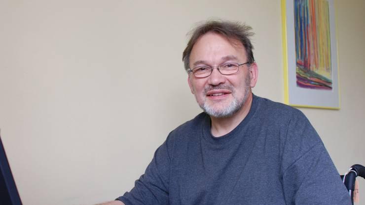 Aus dem Krankenzimmer kümmert sich Pfarrer Olaf Wittchen um seine Gemeinde