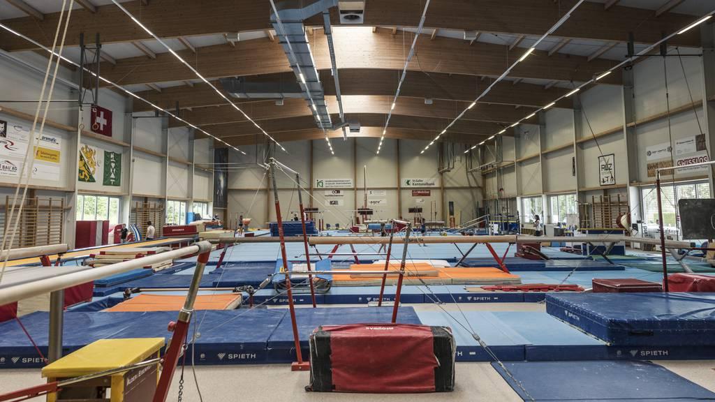 Turnen RLZO Turnhalle Leistungszentrum Wil