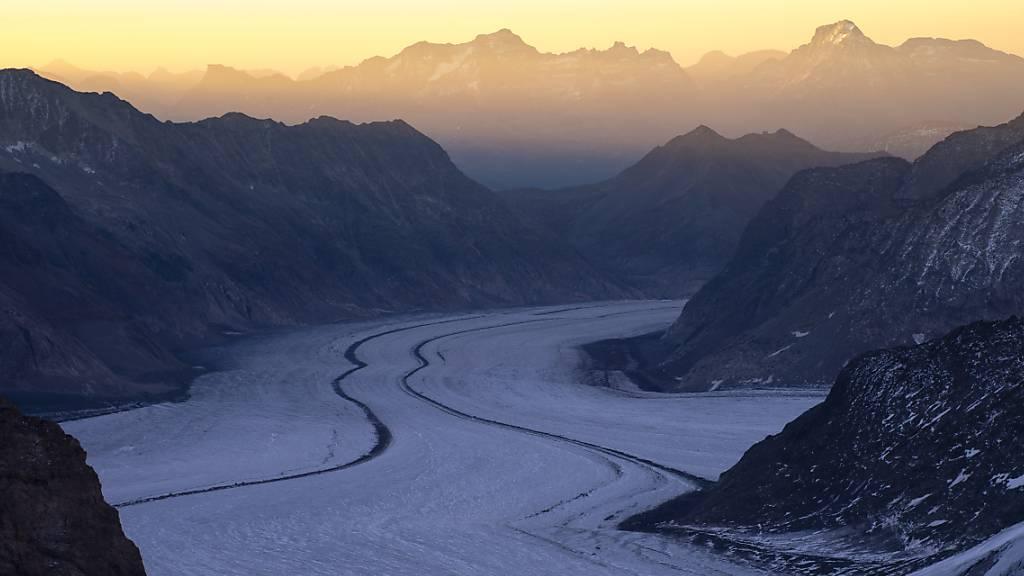 Rund ein Drittel des Aletschgletschers liesse sich retten
