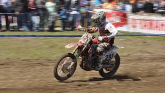 Faszination Motocross: In Mümliswil dröhnen dieses Wochenende die Motoren.