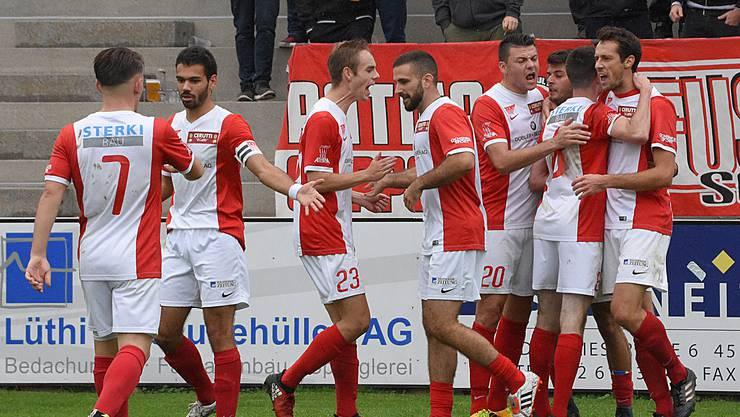 Der FC Solothurn gewinnt auch gegen Luzern