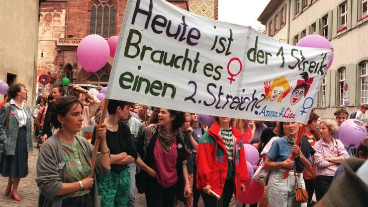 2019 wollen Basler Frauen erneut für ihre Rechte kämpfen.