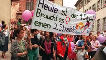 Frauen streiken