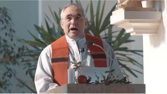Der Röschenzer Pfarrer Franz Sabo stellte seine Palmsonntags-Predigt auf Youtube – sie wurde bislang über 3400-mal angeklickt.