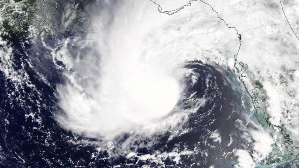 """Der erste Hurrikan der Saison """"Alberto"""" hat in den USA zwei Todesopfer gefordert."""