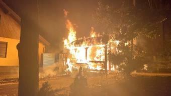 Der brennende Schopf in Aarburg.