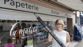 Franziska Rindlisbacher gibt ihrer Papeterie in Balsthal einen neuen Namen