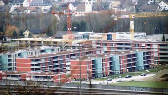 Bauboom: im Rheinfelder Westen: Innerhalb weniger Jahre wurden neue Stadtquartiere aus dem Boden gestampft. (AZ-Archiv/ach)