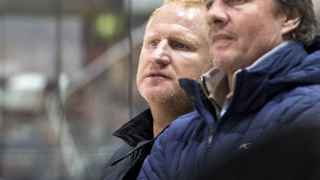 Heiko Vogel (links) wird neuer Trainer von Sturm Graz
