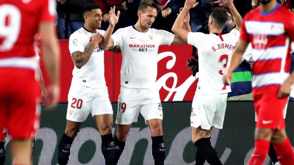 Sevilla-Spieler feiern Gartenparty und brechen Corona-Regeln
