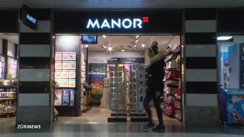 Manor eröffnet Filiale für Online-Bestellungen am HB
