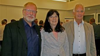 Thomas Roher (l.) tritt im Repla-Vorstand um Präsident Fricker die Nachfolge von Kathrin Hasler an.