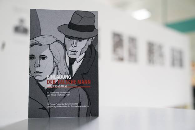 """Buch-Cover: """"Der falsche Mann"""". Der Film wurde als Comic neu aufgelegt"""
