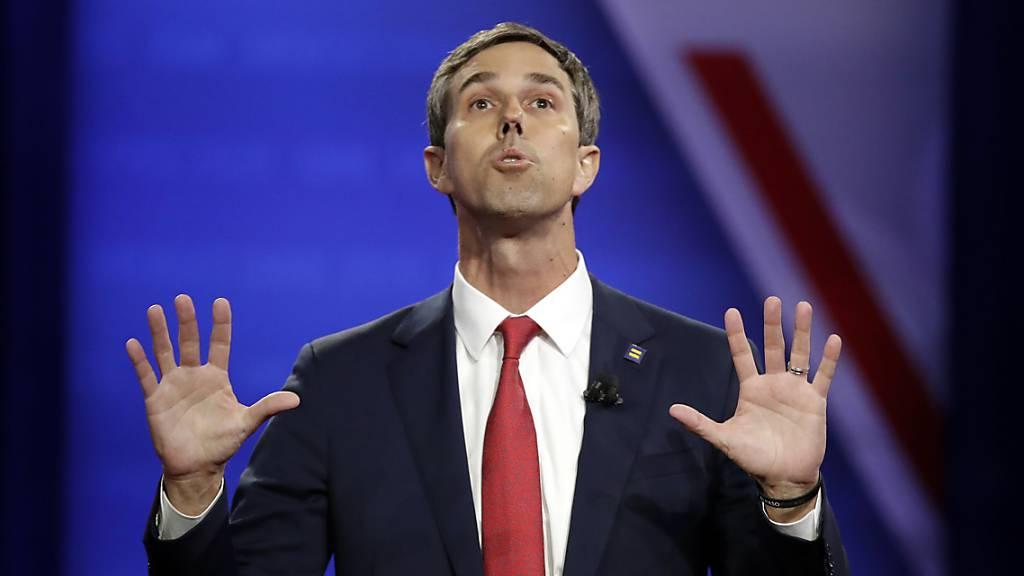 Beto O'Rourke gibt im Rennen um US-Präsidentschaftskandidatur auf