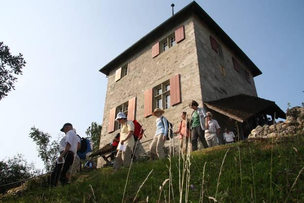 Der Turm wurde 1546 errichtet und diente während 250 Jahren als Gefängnis.