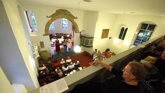 Die intime Atmosphäre und die hervorragende Akustik der Kirche St. Ottilien in Lörrach-Tüllingen sind wie gemacht für das Barock-Konzert mit Sophie Klussmann und Julian Behr.
